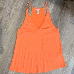 Orange Tank Top